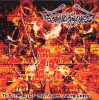 Horncrowned - The Rise of Satan's Artillery [CD]