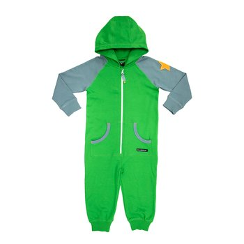 Villervalla Hoodie Overall/onepiece Kids - Pea / Cement