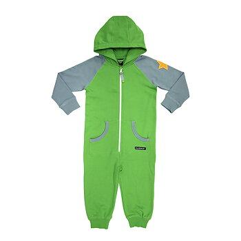 Villervalla Hoodie Overall/onepiece Kids - Pea / Cement