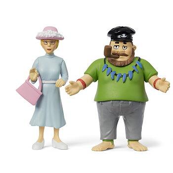 Pippis pappa & Prussiluskan figurset