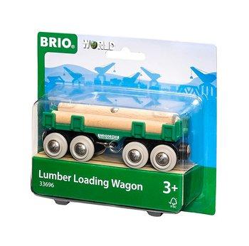 Timmervagn till Brios tågbanor