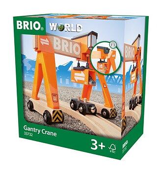 Lyftkran Till Brio tåg