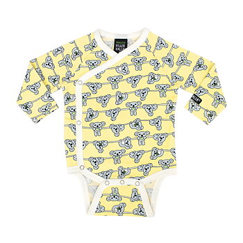 Villervalla Wrap Over Body Koala - Soft Sunflower