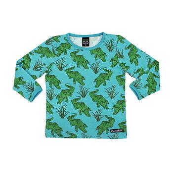 Villervalla T-shirt Ls - Crocodile