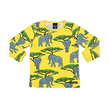 Villervalla T-shirt Ls - Elephant