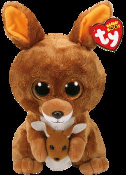 TY Beanie Boos - Kängurun Kipper (23 cm)