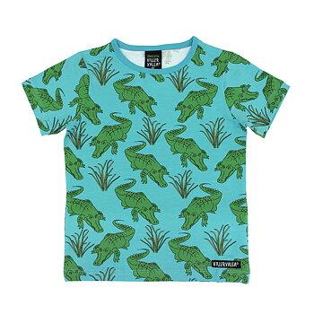 Villervalla T-shirt S/S - Crocodile