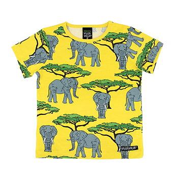 Villervalla T-shirt S/S - Elephant