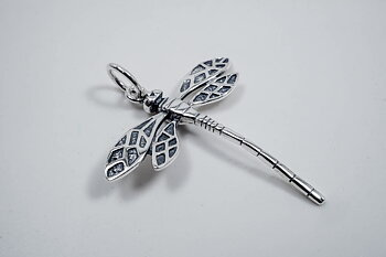 Dragonfly, pendant 925-silver