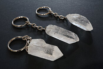 Keychain, rock crystal Pc