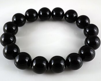 JOD Bubbles: Bracelet in Black onyx 12mm