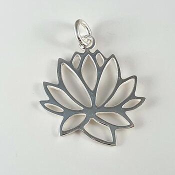 Lotus, hänge 925-silver