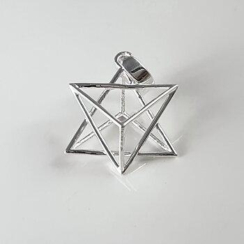 Helig stjärna, hänge 925-silver
