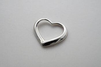 Gracilt hjärta, hänge 925-silver