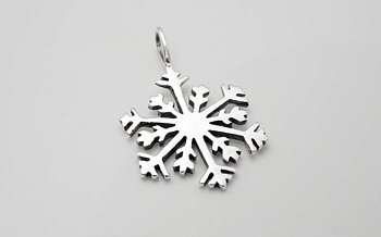 Snöflinga, hänge 925-silver