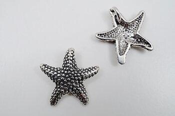 Sjöstjärna, hänge 925-silver