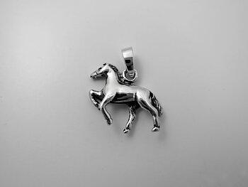 Häst, hänge 925-silver