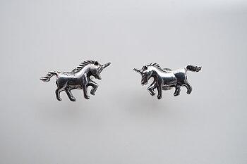 Unicorn, earstick 925-silver