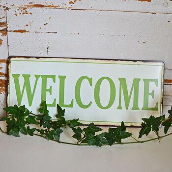 Skylt - Welcome