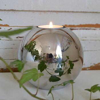 Ljuslykta - silverklot