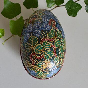 Ägg Fabergé - bladmönster