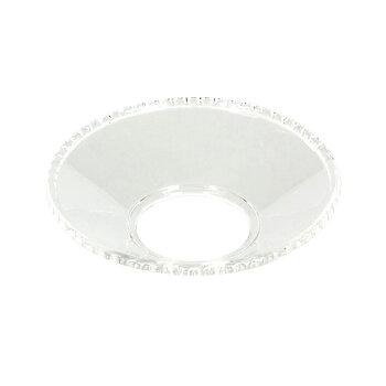Ljusmanschett i glas - uddkant, 4-pack