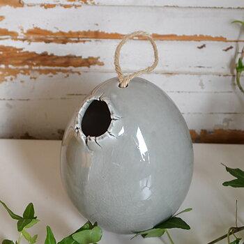 Äggvas - grå
