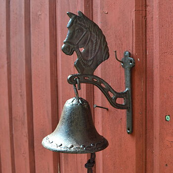 Dörrklocka - häst