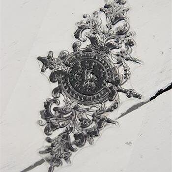Stämpel - ovalt ornament