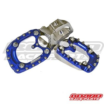STEEL footplates BETA RR 20-> with BLUE Ergal Pad