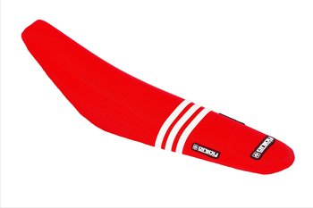 ENJOY GasGas 21-> TLD Seatcover Red/White Stripes