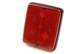 Reflex Röd 139 x 117 mm  Hella