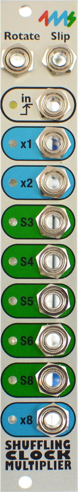 4MS SHUFFLING CLOCK MULTIPLIER V2