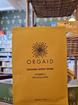 Vitamin C Ansiktsmask 1 singelark Orgaid