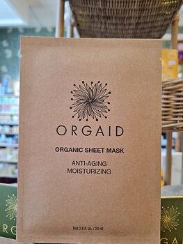 Anti-Aging Ansiktsmask  1 singelark Orgaid