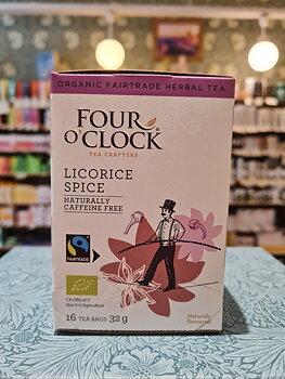 Licorice Spice 16påsar, Four O'Clock