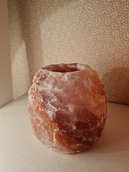 Saltkristallykta stor