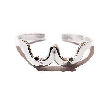 Fingerring med bröst - silver 925