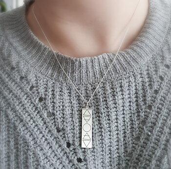 Elementen - Silver 925, Halsband / hänge