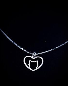 Hänge - Katt i hjärta