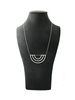 SCALE necklace - silver