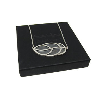 LEAFY necklace - silver