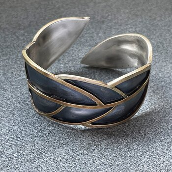 LEAFY bracelet - one-of-a-kind