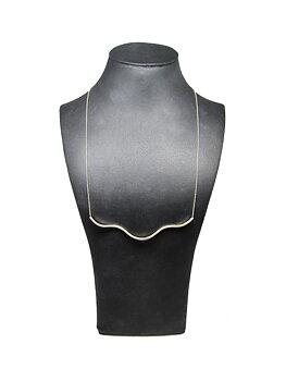 WAVE halsband - silver