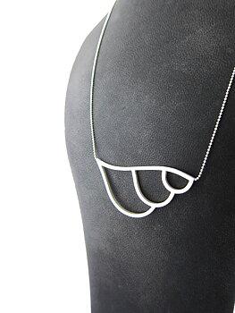 LEAFY - silver necklace