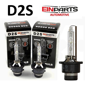 D2S 5000K e-märkt original Einparts Automotive® valbar Long Life Infinity och Extended +50% More Light
