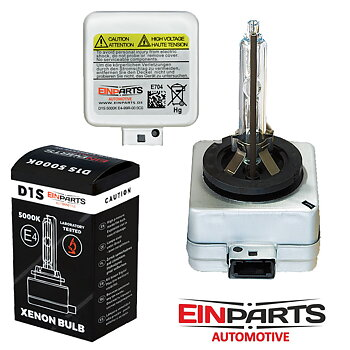 D1S 5000K e-märkt original Einparts Automotive® valbar Long Life Infinity och Extended +50% More Light