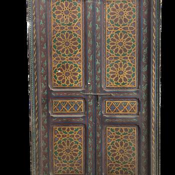 Vintage moroccan door 204