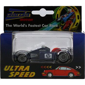 Formula 1 blå bil