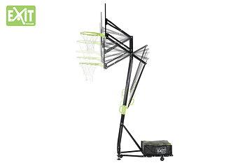 EXIT basketkorg Galaxy, portabel höjdjusterbar basketställning  MED DUNKRING!